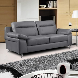 sofa grey with 2 seats