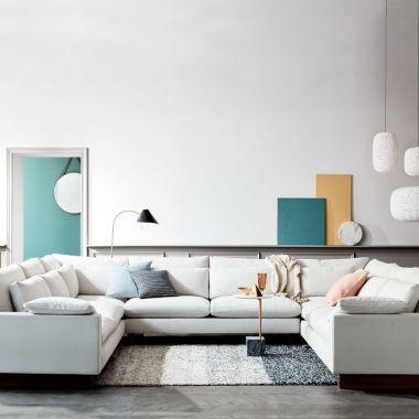 sofa pillow with sofa table