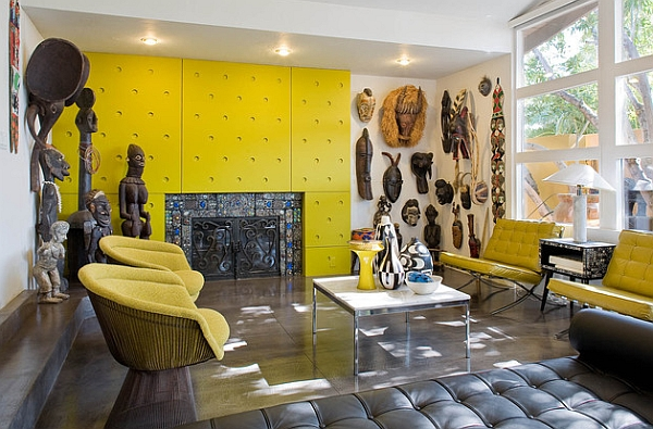 african statue inspiration interior design