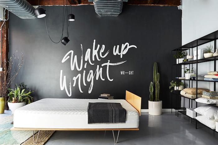 bedroom wall art design