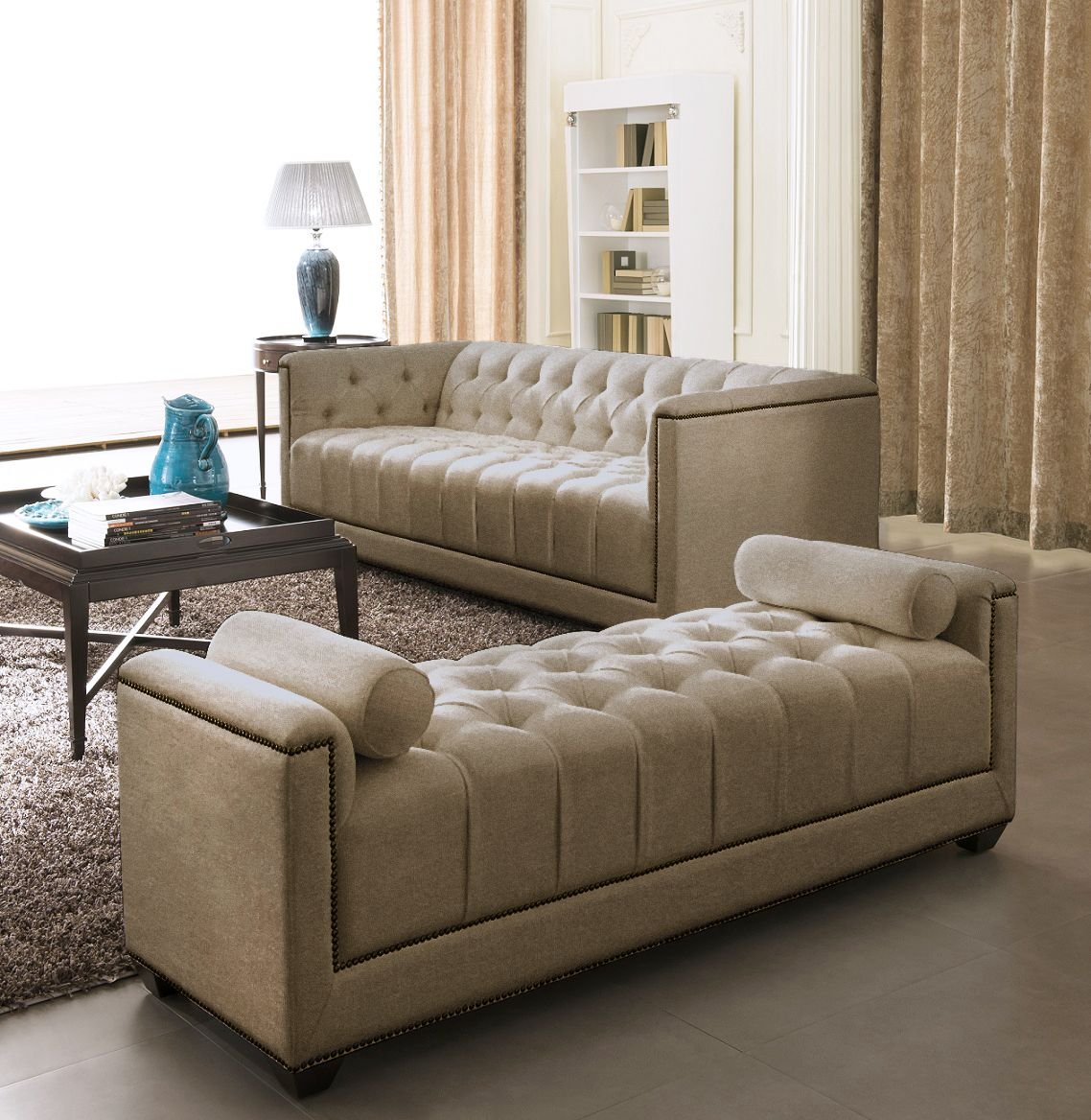brown design sofa cama