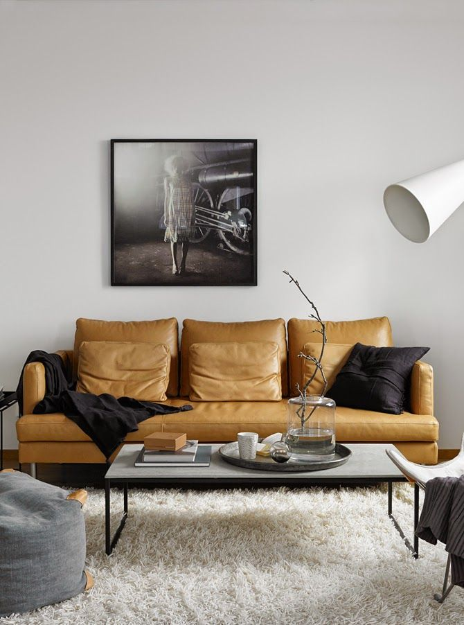 brown leather sofa ideas