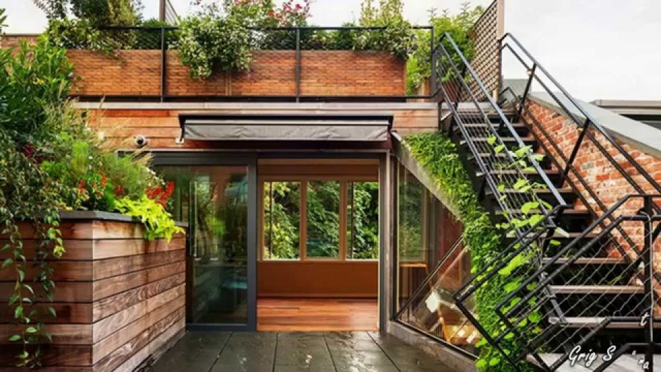 go green patio ideas