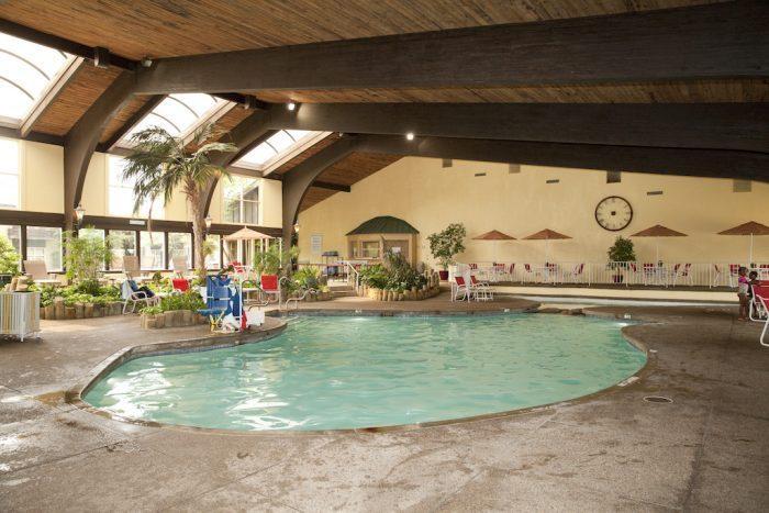 indoor pool for kids