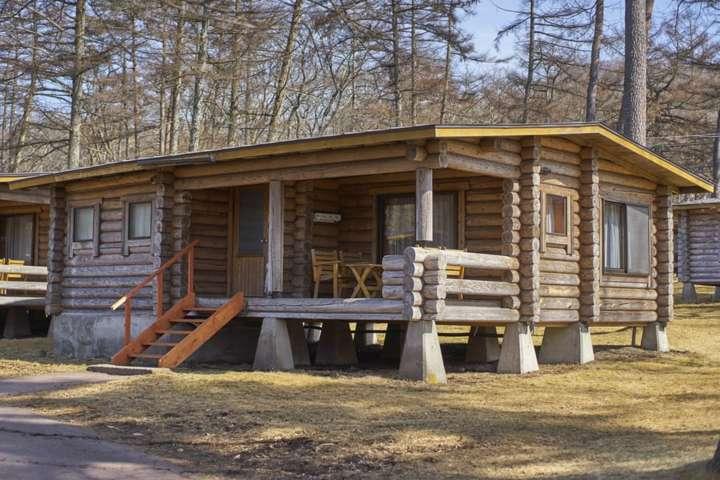kit build cabin