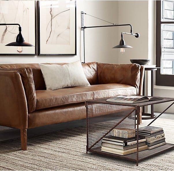 leather sofa ideas