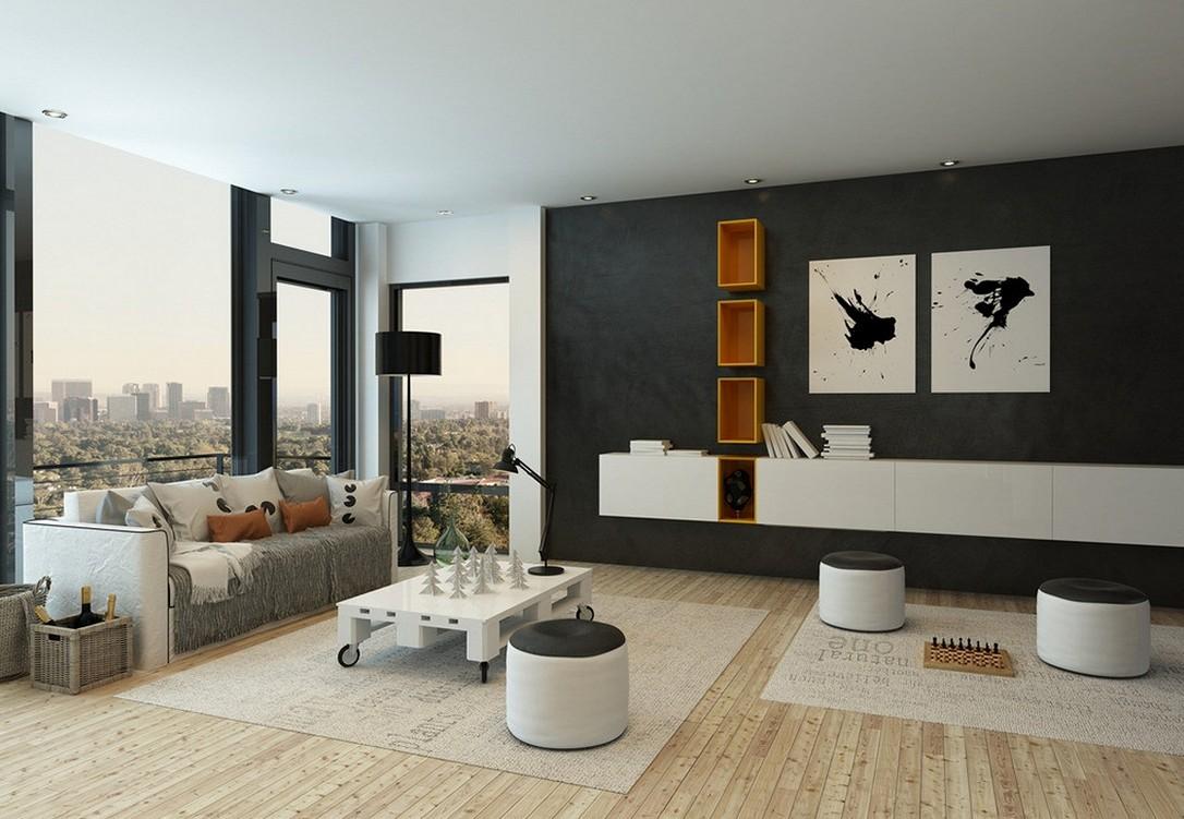 minimalist style apartment interior design