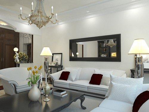living room mirrors ideas