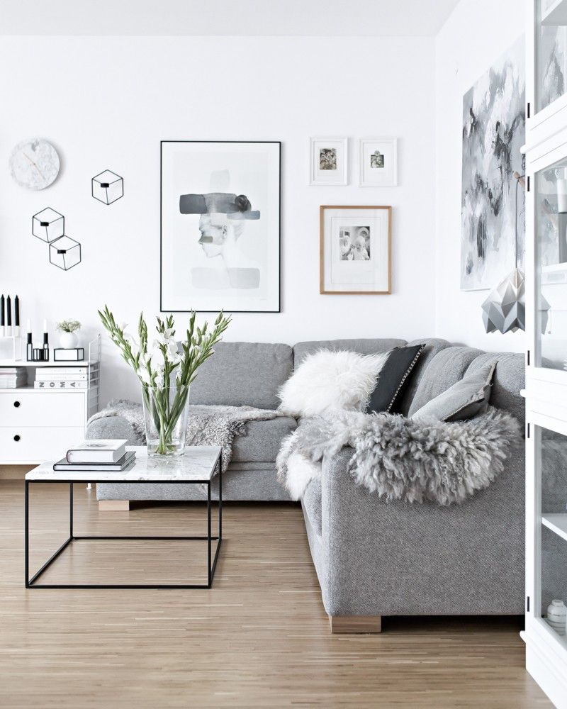 monochrome concept interior design