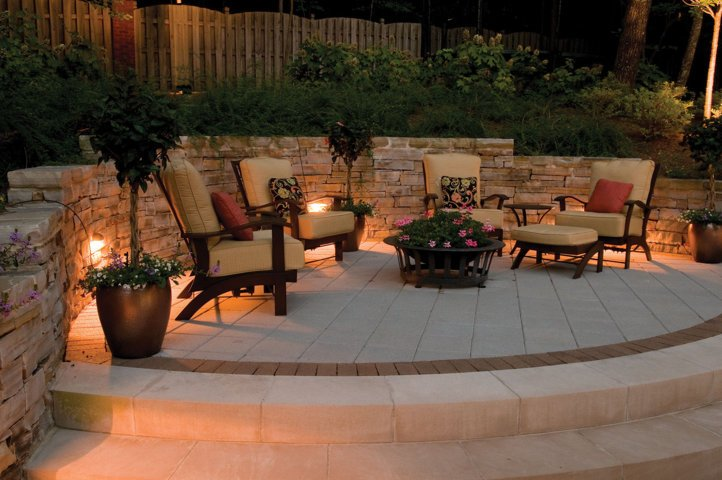 outdoor patio with small cafe ideas