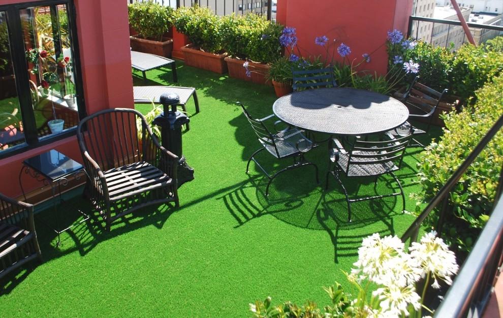 patio ideas with grass backyard