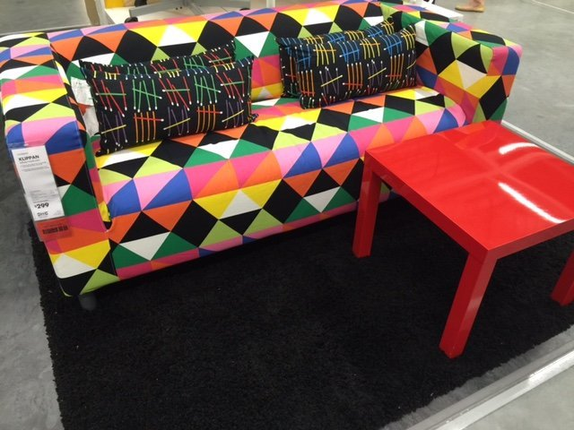rainbow sofa ideas