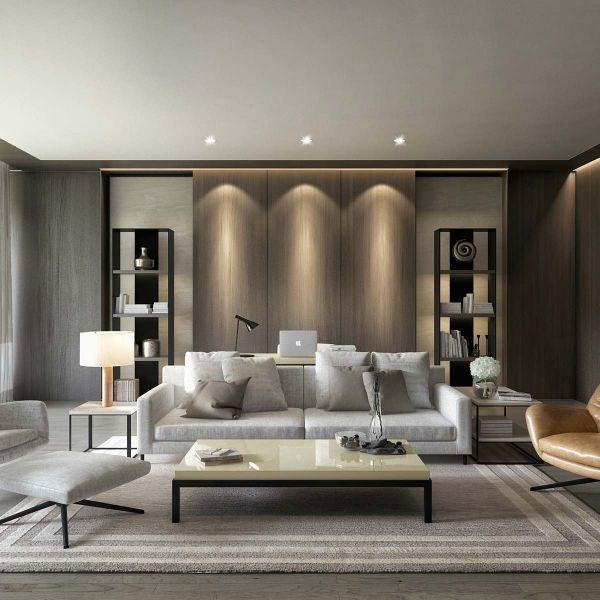 simple and minimalist interior design room