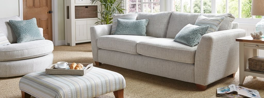 sofa bed set combination with gray pillow