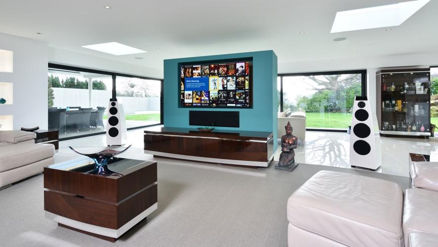 technology living room desing