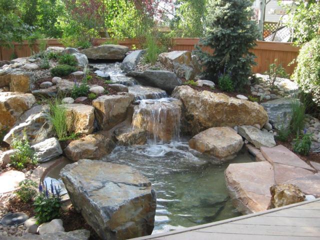 waterfall design ideas