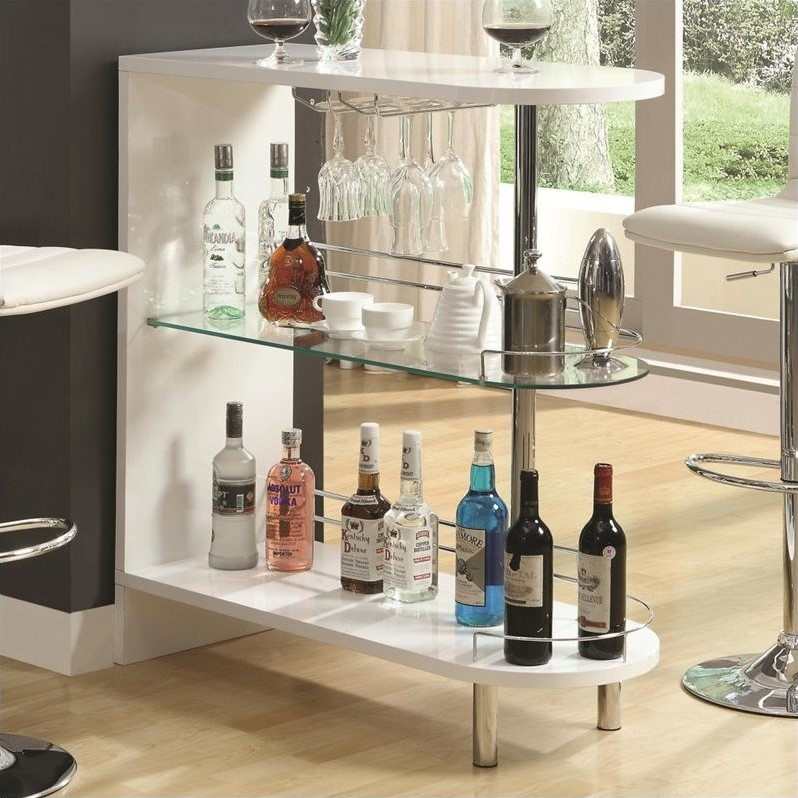 contemporary home bar table bar shelf