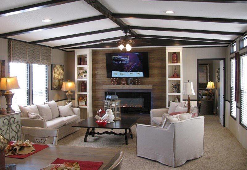 mobile house living room ideas