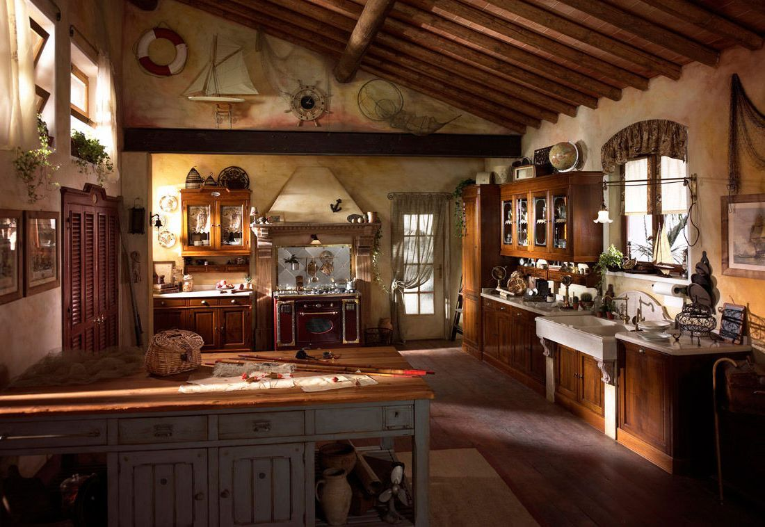 rustic italian kitchens ideas