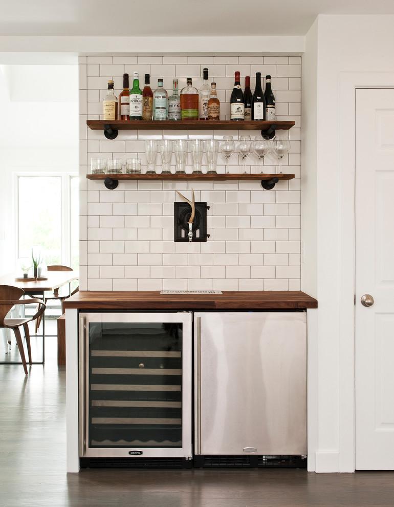 simple bar shelf