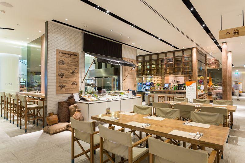 traditional thai kitchen interior
