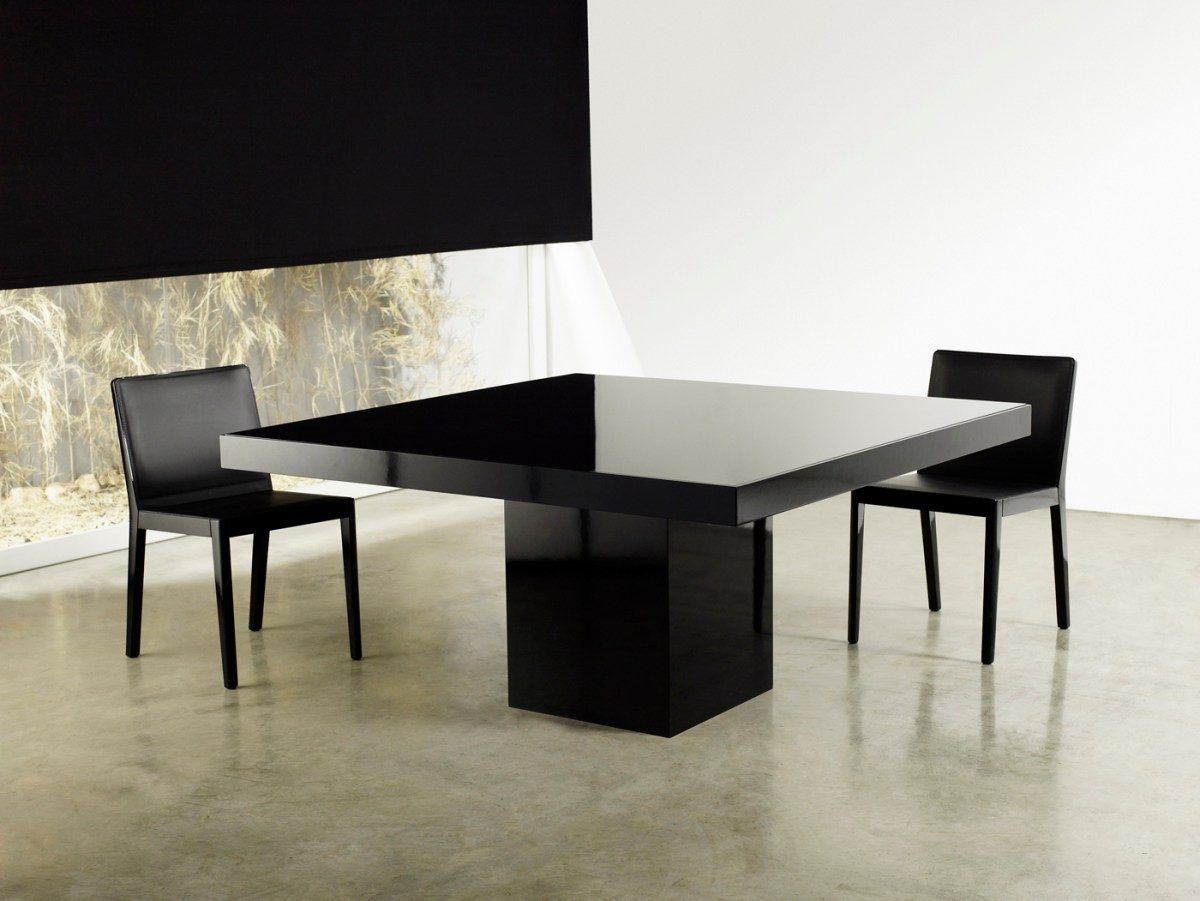 modern square table