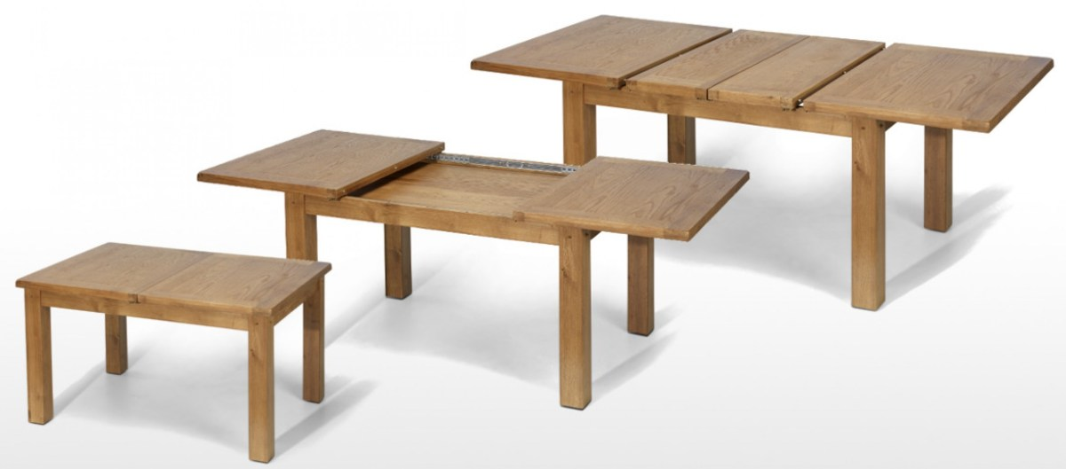oak extendable table ideas
