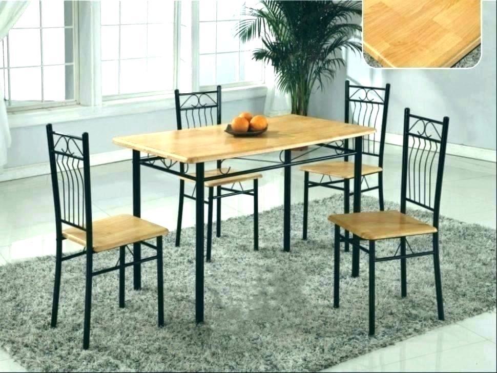 steel wood furniture sets