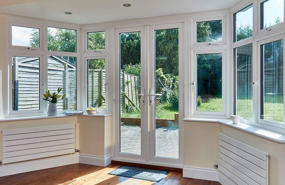 windows and doors combined design
