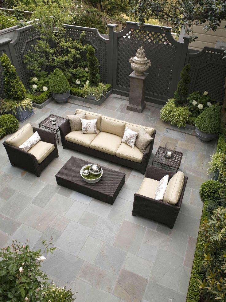 best sylish patio for front yard ideas