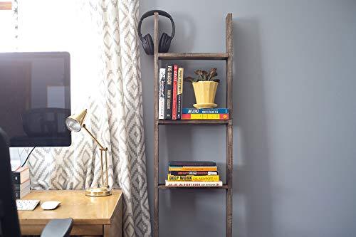 decorative wooden display ladder ideas