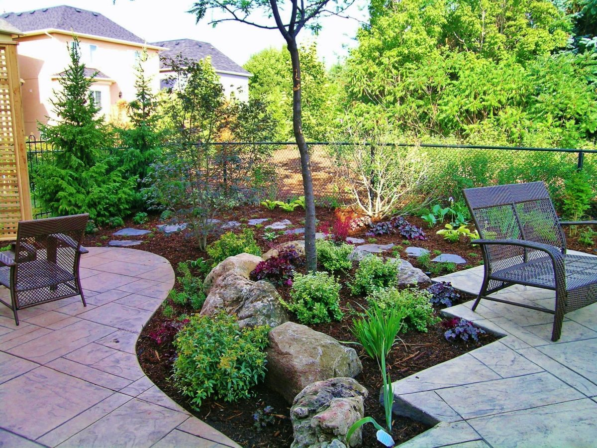 front yard design ideas without grass