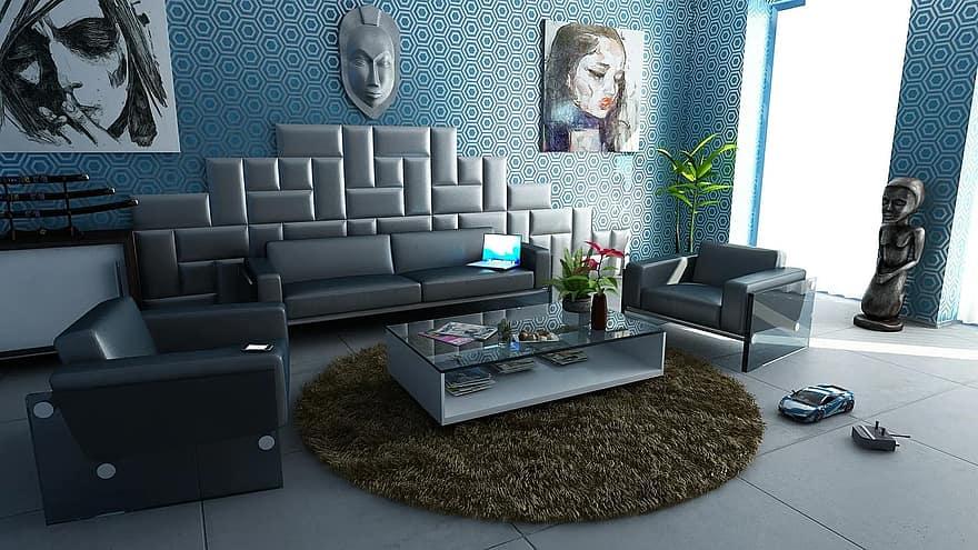 room apartment interior design decoration design