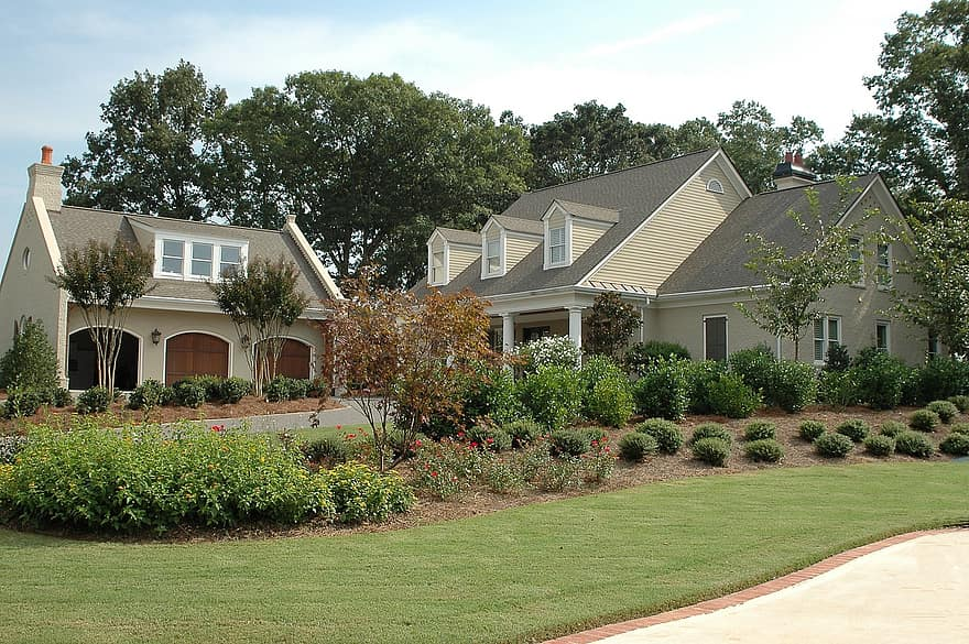 new home house construction architecture home new estate mortgage property