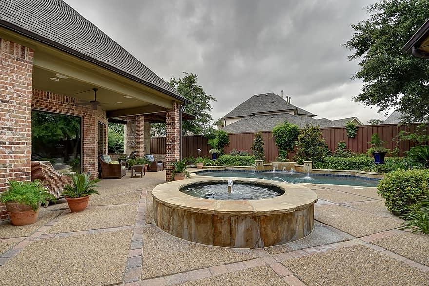 backyard pool backyard pool swimming 1