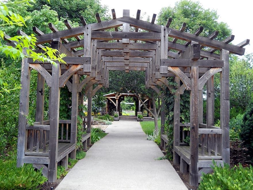 gardens trellis landscaping decoration wooden backyard design pergola 1