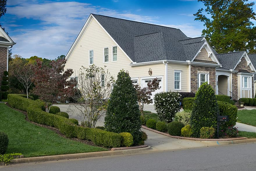 house driveway lawn estate home property residential front front of house 1