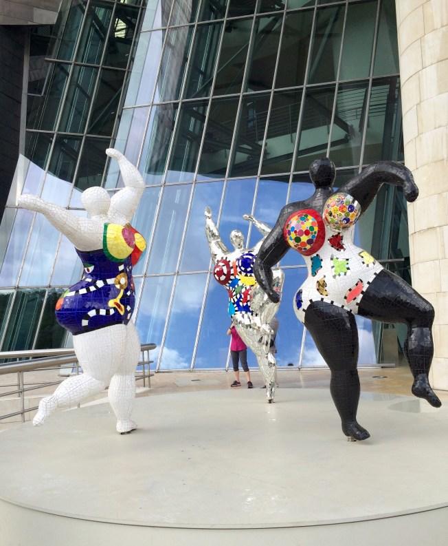 """Niki de Saint Phalle's """"Les Trois Graces"""""""