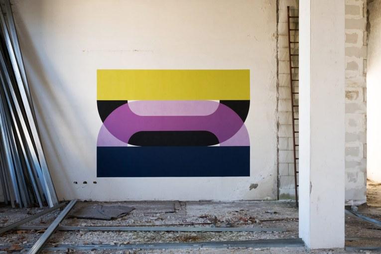 CT mural in Torino, Italy