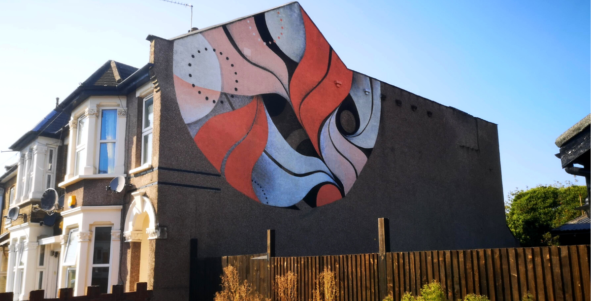 Lucy McLauchlan mural