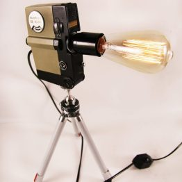 camera lamp, accent lamp, gift