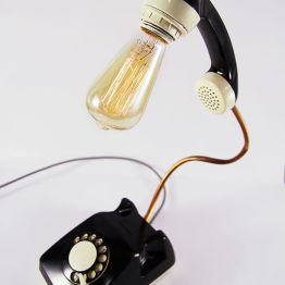Retro Lamp, Telephone Lamp, Vintage lamp