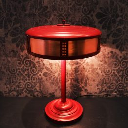 retro lamp, 80's lamp, upcycled lamp