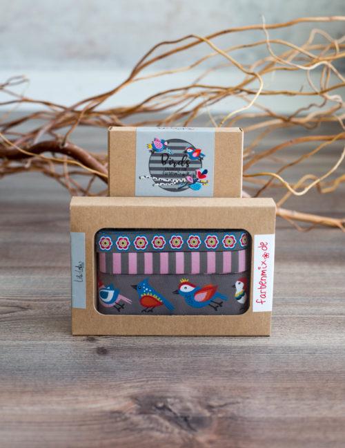 Farbenmix Sortenbänder Birds grau