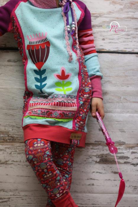 La Mu Milou - Designbeispiel Borten Designer Kollektion Farbenmix - Jolijou - Harvest Blossom