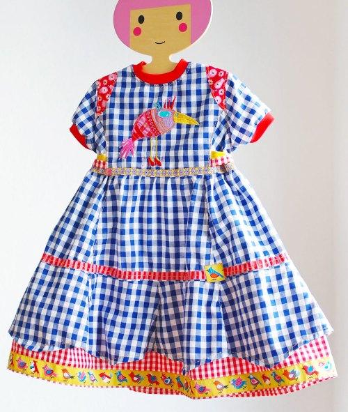 Rachel Farbenmix Schnittmuster - Kleider aus Webware - kunterbuntes Kleid selber nähen