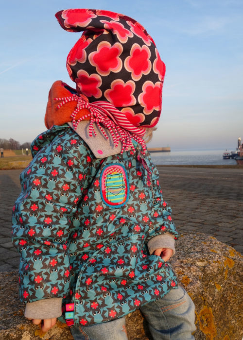 IZZY Schnittmuster Jacke Übergangsjacke farbenmix selber nähen Anleitung