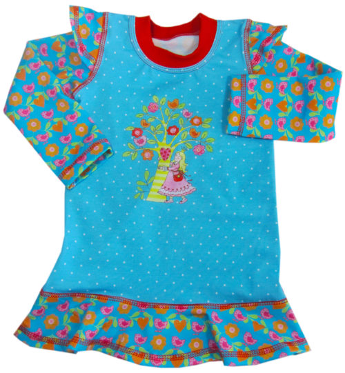 JOYA - Shirtschnittmuster für Mädchen von farbenmix - Kinderkleidung selber nähen mit Schnittmuster Ebooks farbenmix