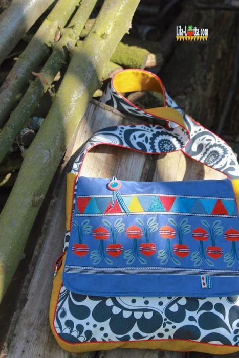 Messengerbag Taschenspieler BUBE - Tasche von Lila Lotta