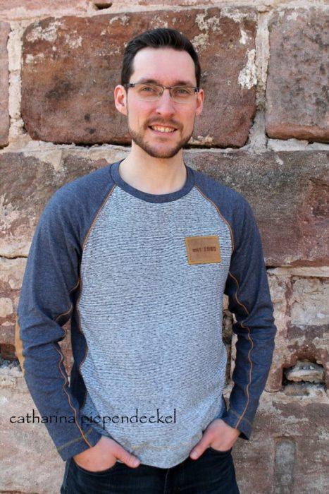Raglanshirt für Männer - Ebook und Schnitt Design Ostseepiratin - farbenmix